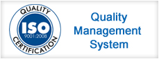 certified by quality management system